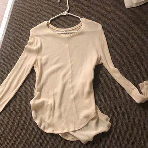 af white sweater
